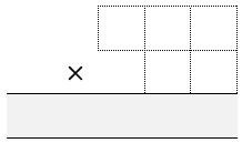 3 digit by 2 multiplication grid