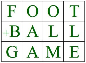 Foot+Ball table